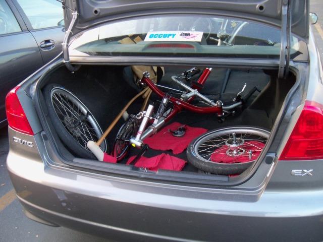 ICE Q in trunk