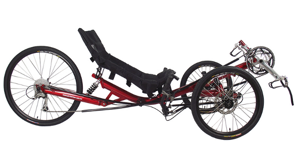 Triker Trike Recumbent Bike Sticker Decal