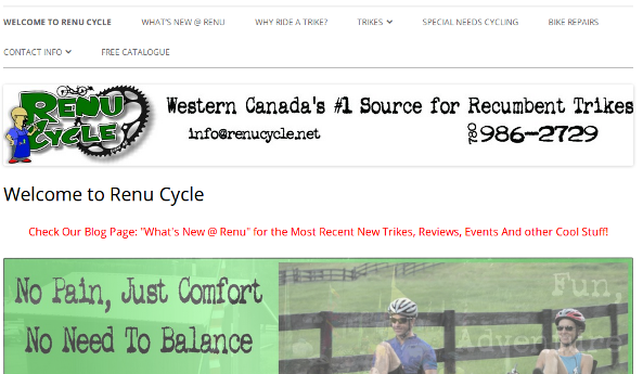 RenuCycle Website