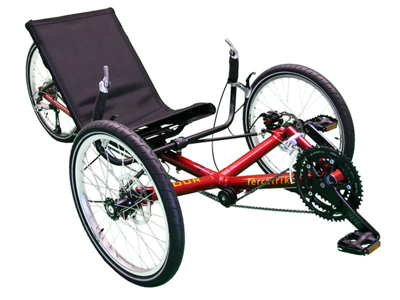Catrike 3 Wheelers Bikes The Tour is the result of the