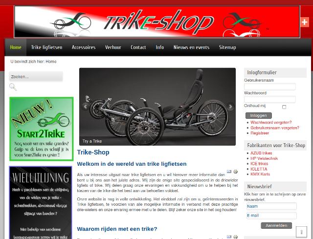 Trike Shop Belgium