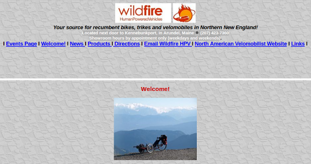 Wildfire Human Powered Vehicles