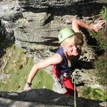Intrepid Jane Climbing