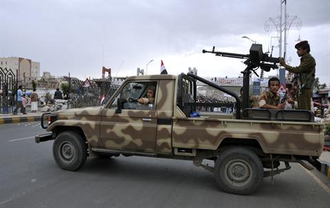 Yemen Military Truck