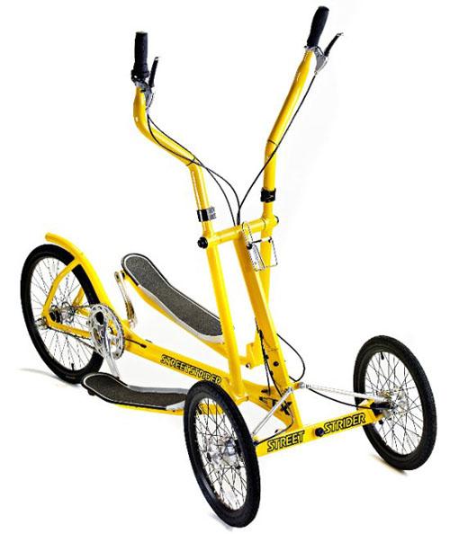 Elliptical Vs Bike For Weight Loss: StreetStrider Elliptical Tadpole Trike