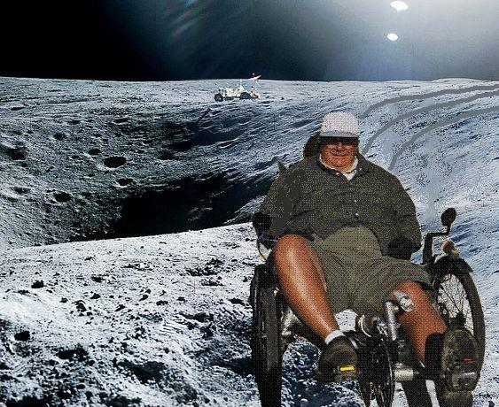 Steve Newbauer on Moon