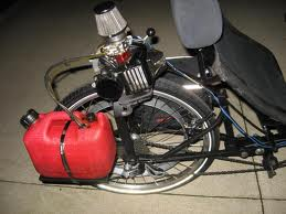 gas engine motorized trike