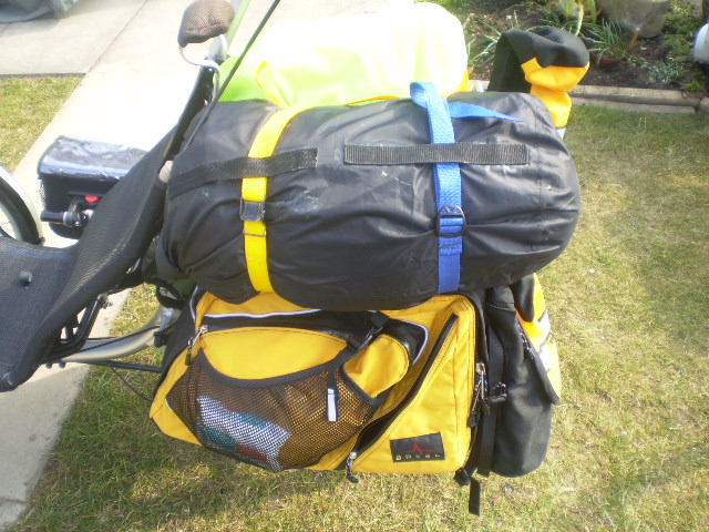 Alonzo's Touring Bags