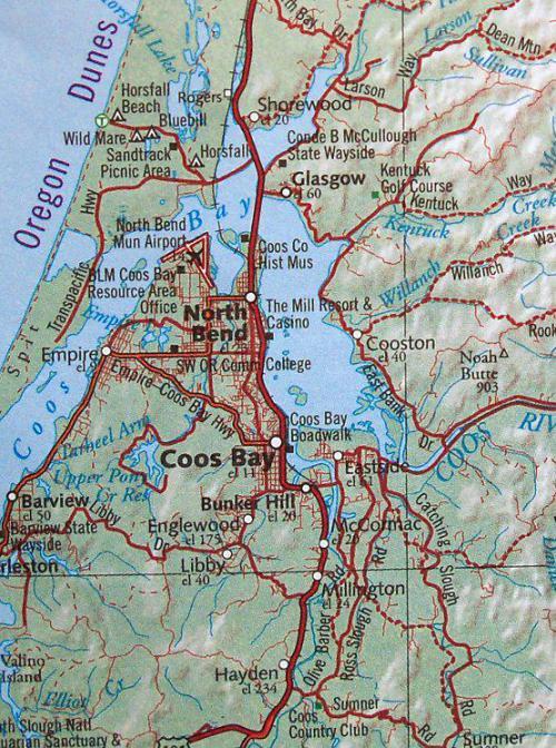 Coos Bay Detour 0