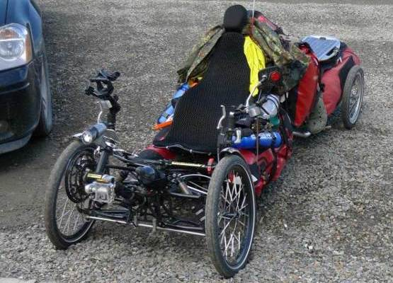 loaded trike 84