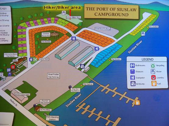 Port of Siuslaw CG Map