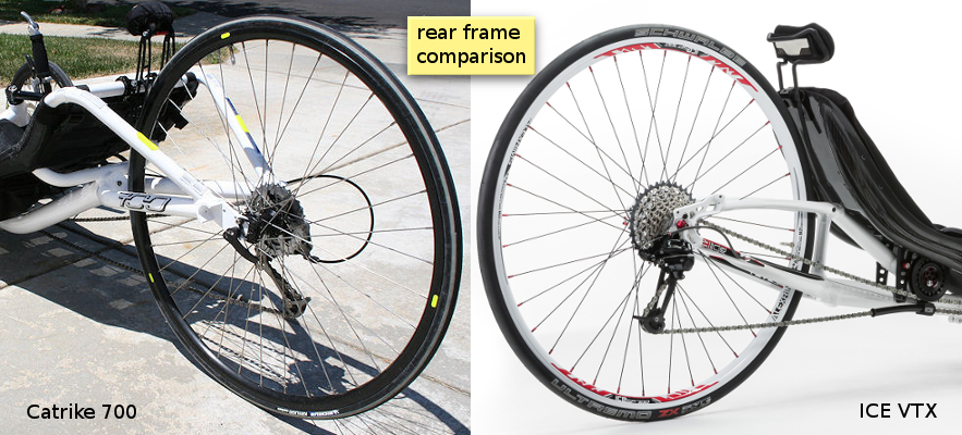 700 VTX Frame Comparison