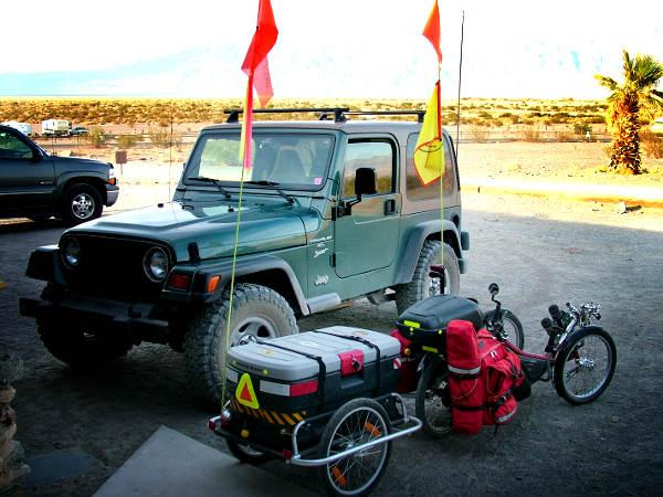 Death Valley Trike