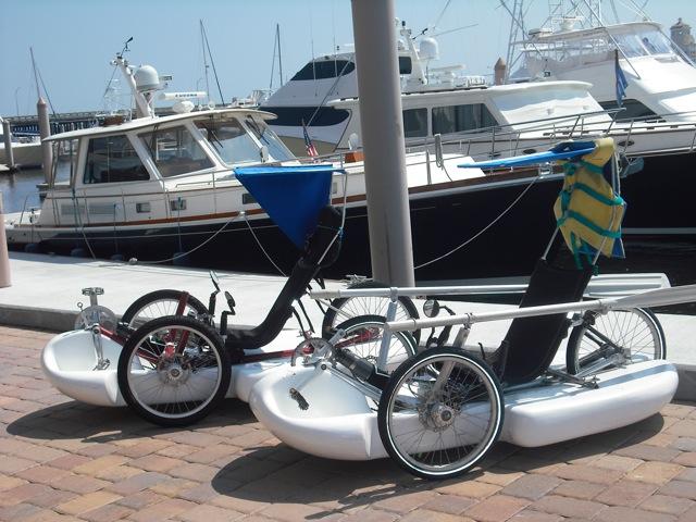 trike boats