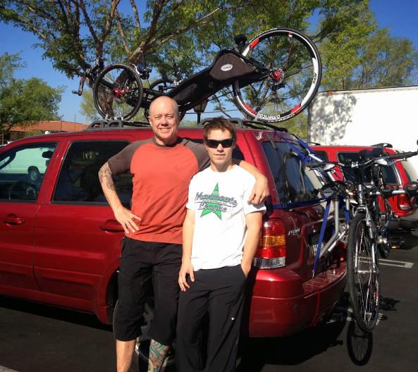 Mark Rackow & son
