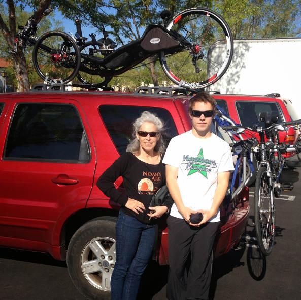 Mark Rackow wife & son