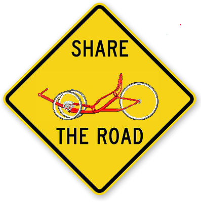 Share the Road - Trike