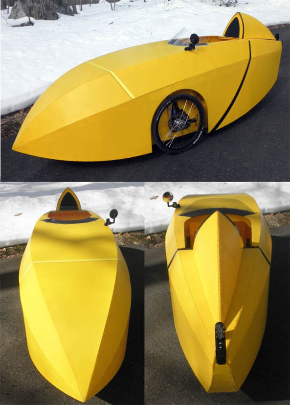 Spearhead Velomobile Kit Trike Asylum