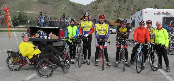 Steven Telck Teton Ride 2014