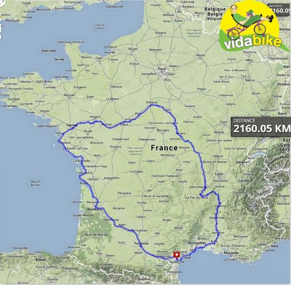 Tour de France Recumbent 01