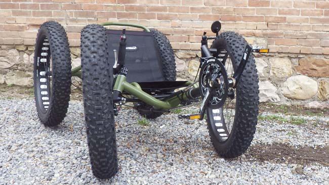 Utah Trikes Army Green Quad 01