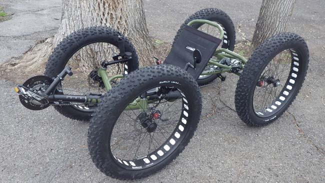 Utah Trikes Army Green Quad 02