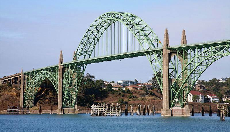 Yaquina Bay Bridge Newport Oregon 2