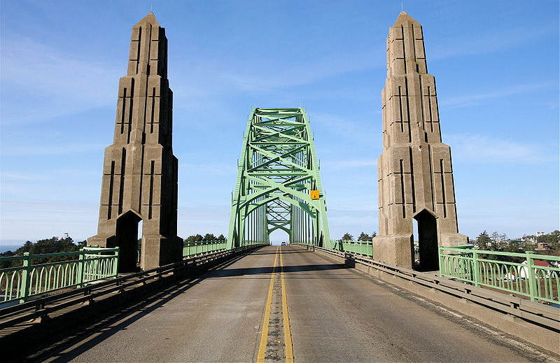 Yaquina Bay Bridge Newport Oregon 3