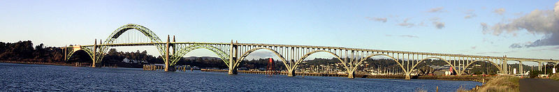 Yaquina Bay Bridge Newport Oregon 4