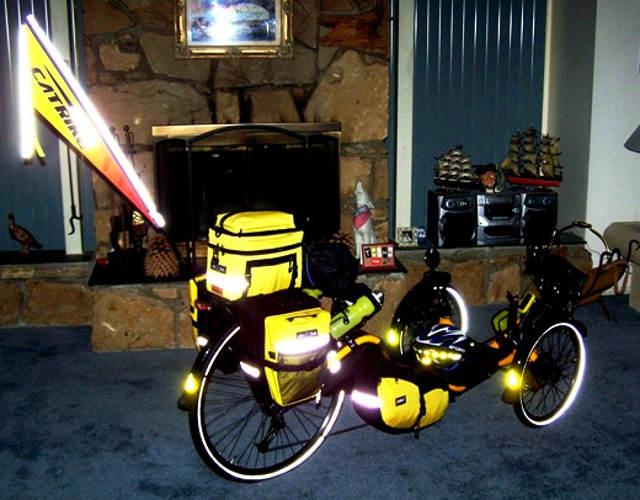 Gary Bunting Catrike 700 Tour Trike