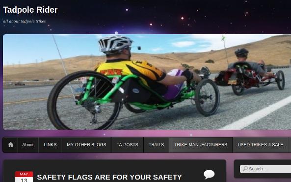 Tadpole Rider Blog