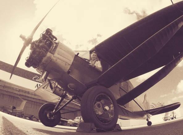 James Alaggio airplane pilot