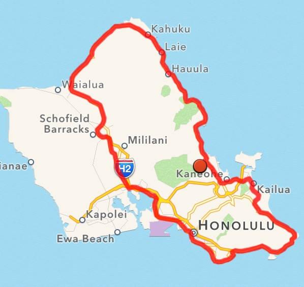 James Alaggio Oahu Ride 700