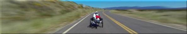 steve riding Catrike 700