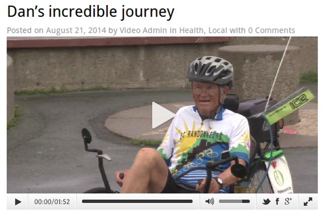 Dan's Incredible Journey