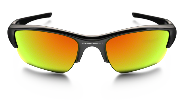Oakley Flak Jacket fire iridium