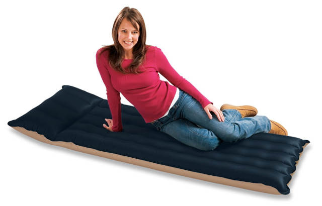 Old air mattress