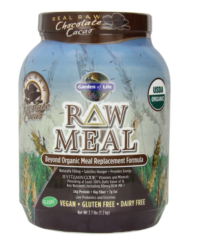 Garden of Life RAW MEAL supplement