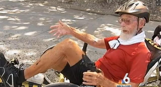 Bert Blevens 90 year old nomad