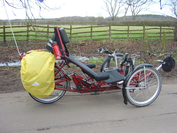 Redmount Roller trike