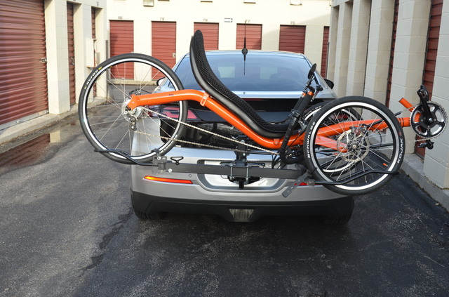 Trike Carrier on Chevy Volt 1