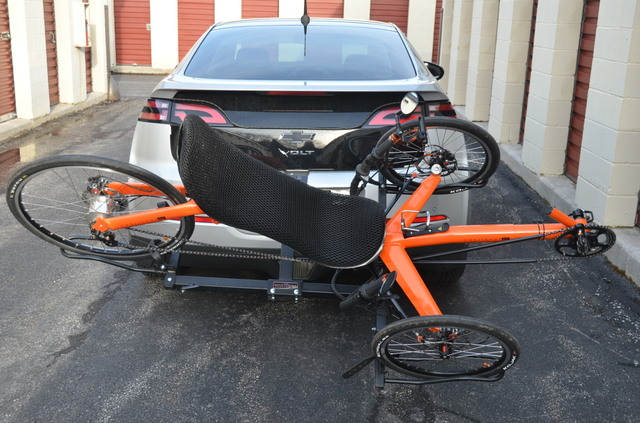 Trike Carrier on Chevy Volt 2