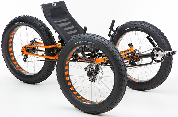 ICE Fat Tire Trike