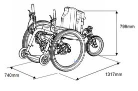 Mountain Trike wheelchair