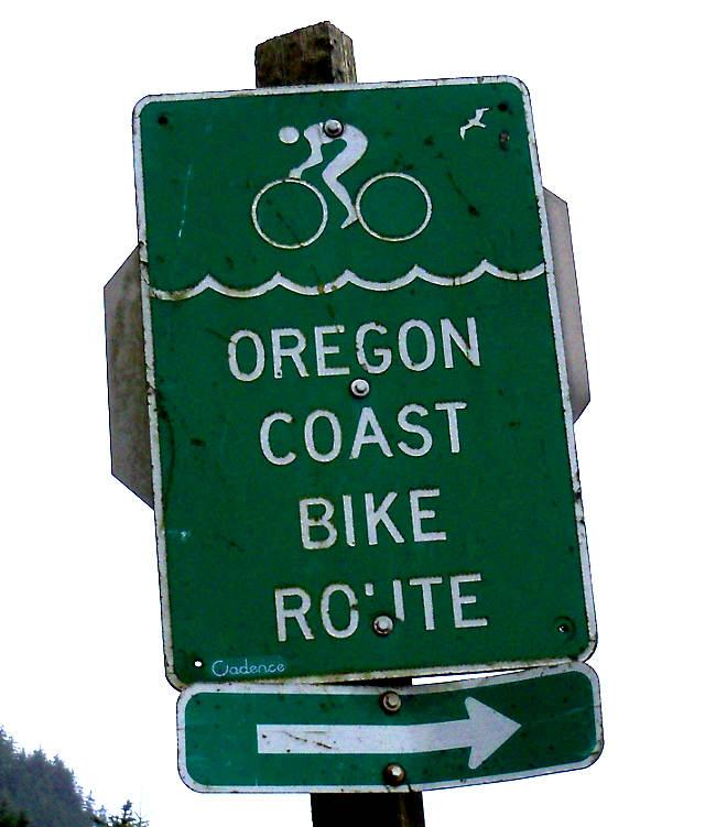 OCBR Roadsign