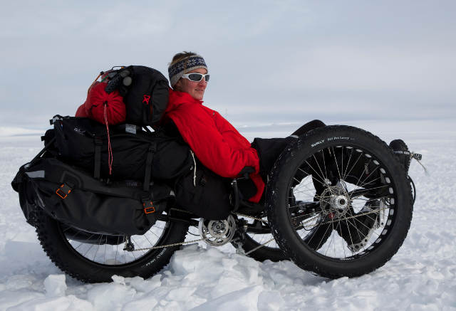 ICE Fat Trike to South Pole