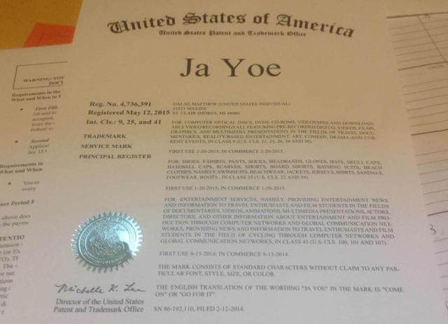 Jayoe Trade Mark