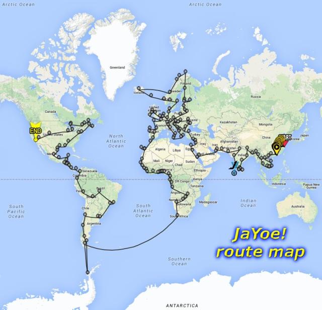 Matt Galat JaYoe Map