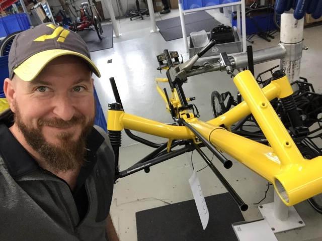 Matt Galat new Trike