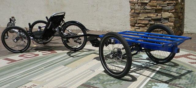 Utah Trikes suspension trailer 02